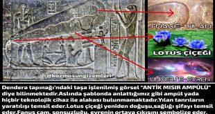 Mısır Dendera Tapınağı ve Ampül Yalanı