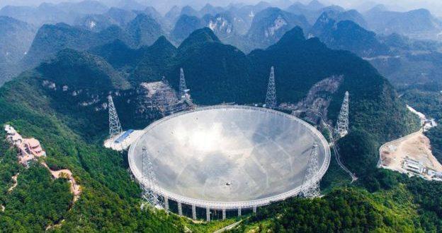 Çin Dünya'nın En Büyük Radyo Teleskobunu Bitirdi