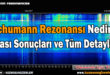 Schumann Rezonansı ve Sonuçları Nedir ?
