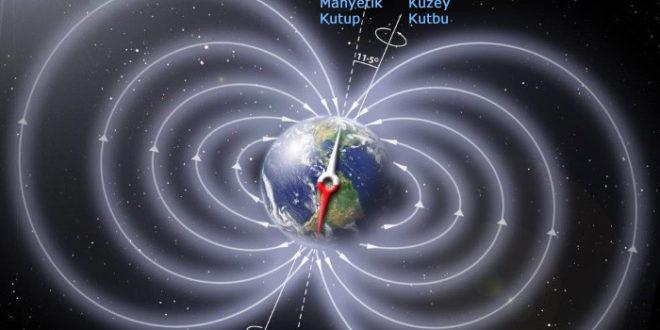 Dünyamızın Manyetik Kuzey Kutbuna Bir Şeyler Oluyor
